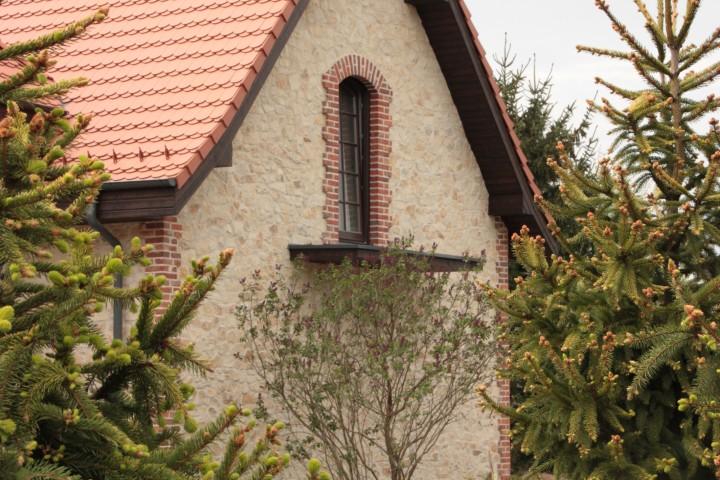 dom jednorodzinny, balkon